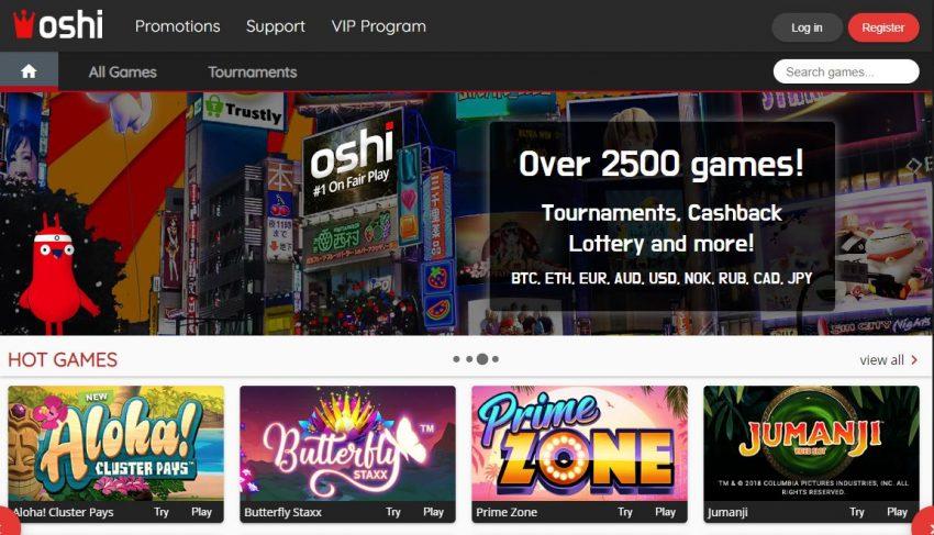 Oshi Casino Design