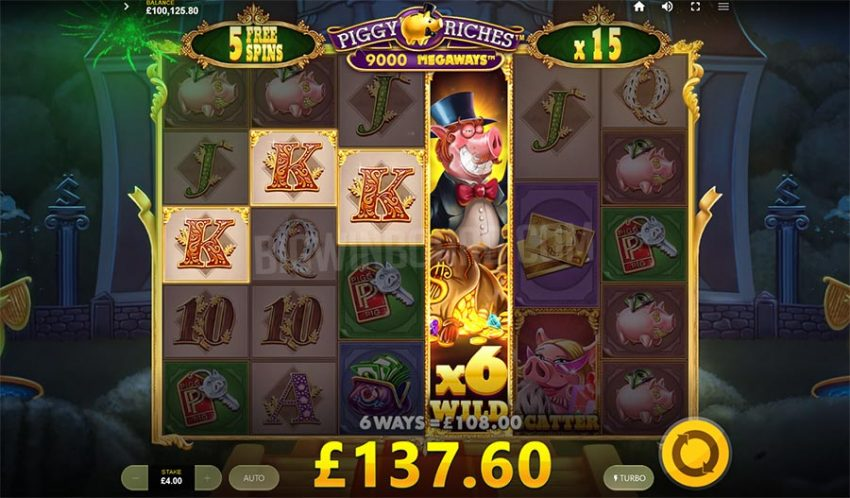 Piggy Riches Megaways Freespins