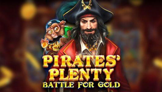 Pirates Plenty Battle for Gold Logo
