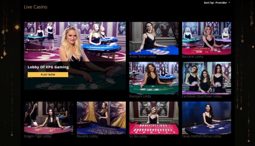 Play24Bet Live Casino
