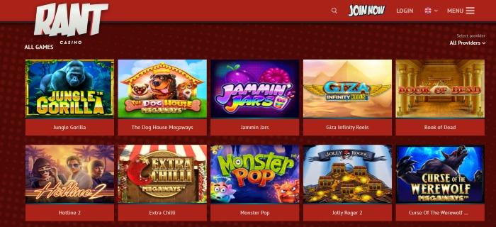 Rant casino casinospill
