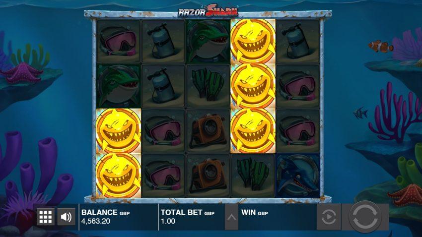 Razor Shark Design Push Gaming