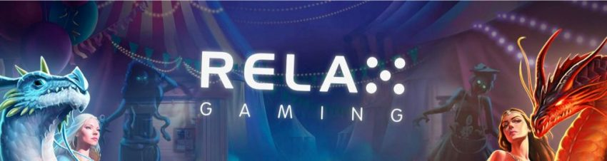 Relax Gaming Banner
