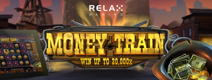 Relax Gaming Money Train Banner