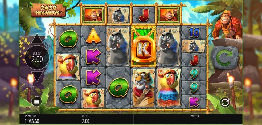 Return of Kong Blueprint Gaming Screenshot