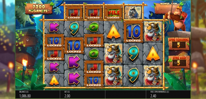 Return of Kong Megaways Blueprint Gaming Design