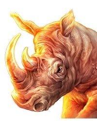 Raging Rhino Neshorn