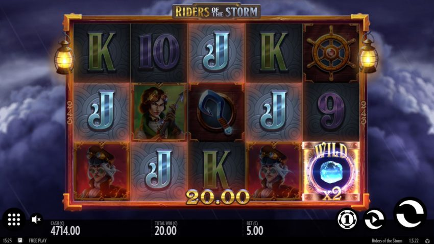 Riders of the Storm Big Win