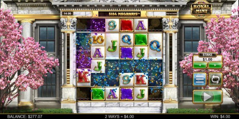 Royal Mint Megaways Design