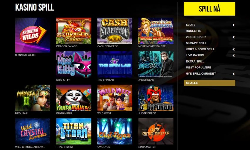 Royale500 Casino Games