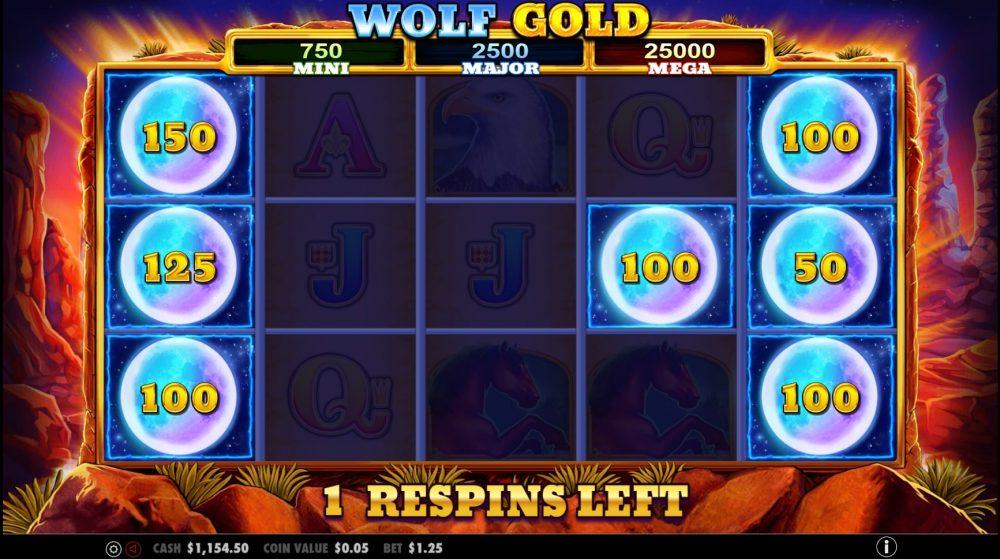wolf gold progressiv jackpot bonusrunde