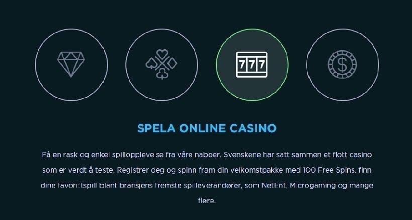 Spela casino intro