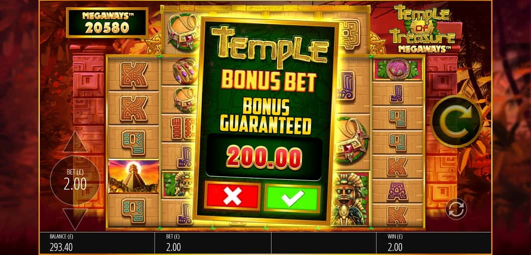 Temple feature buy