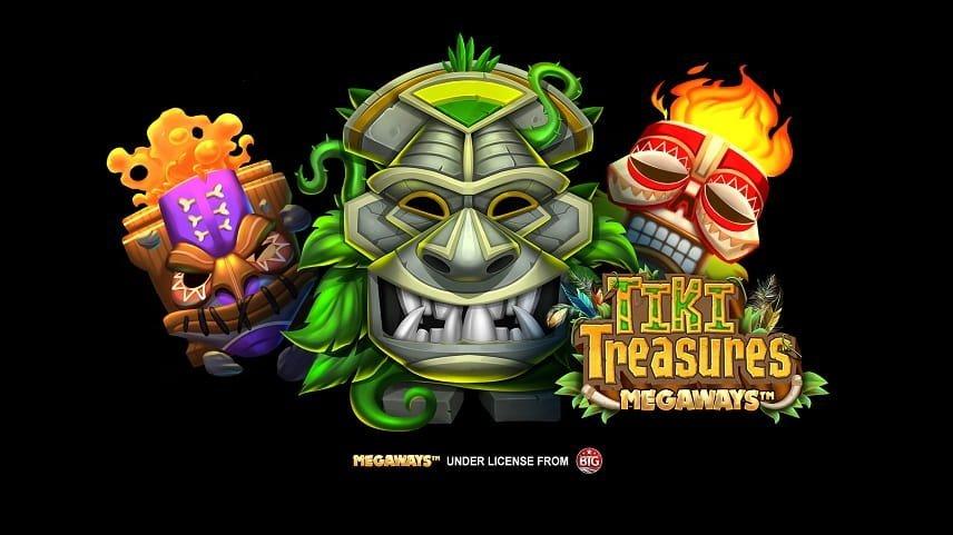 Tiki Treasures Megaways splash