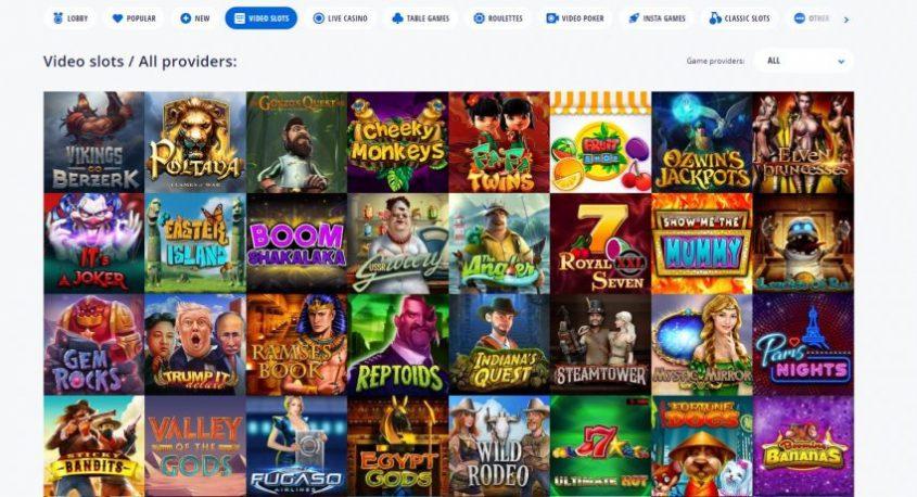 Vulkan Vegas Casino Games
