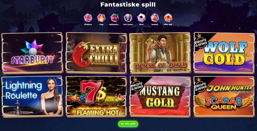 Wazamba Casino Spill