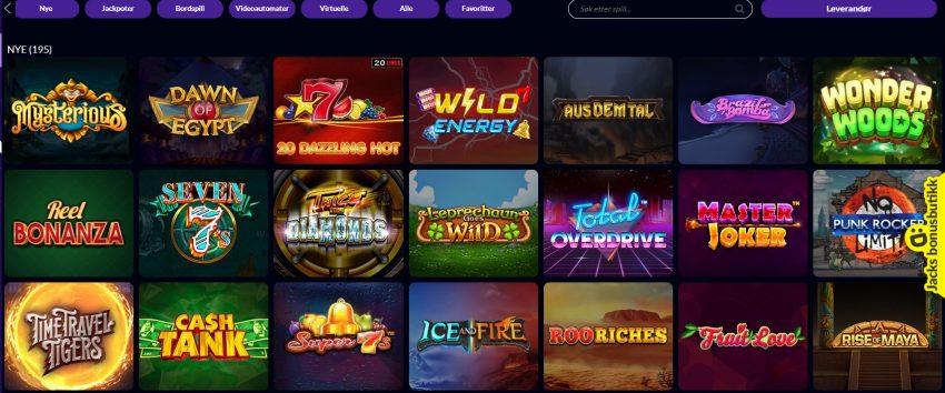Wild Jackpots Casinospill