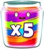 Jammin' Jars Wild x5