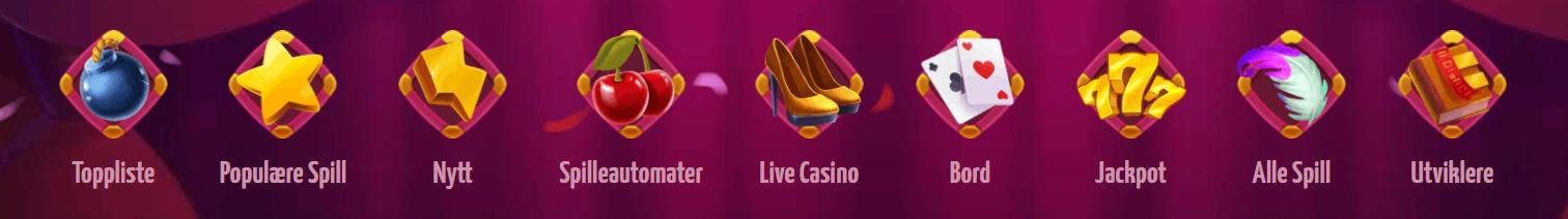 Winota casino Norge spill