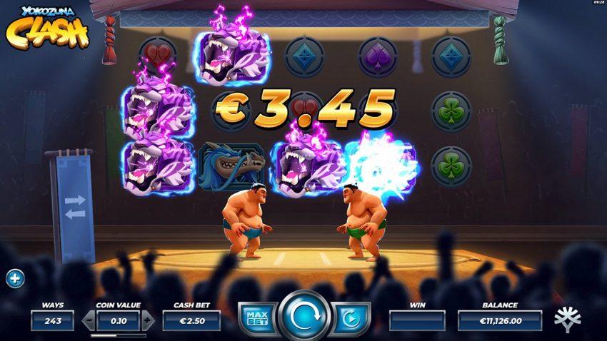 Yokozuna Clash Design Yggdrasil Gaming