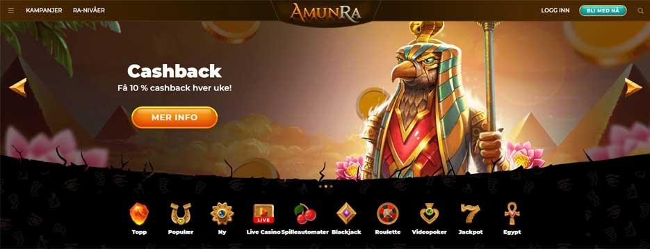 Amun Ra casin