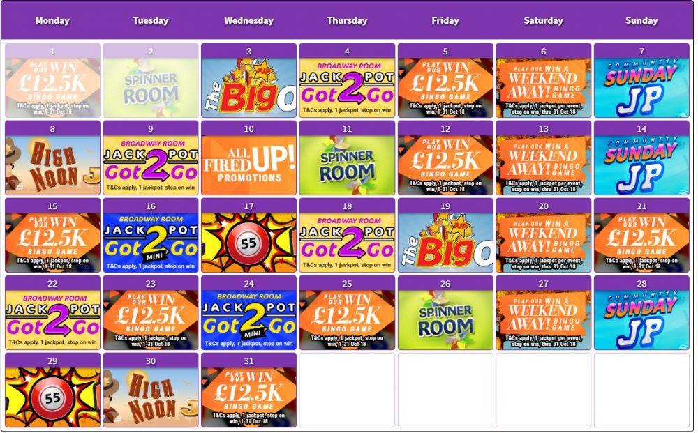 bingo kalender