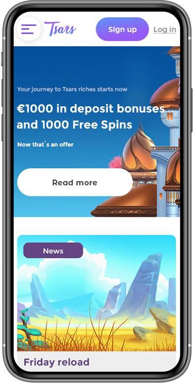 casino bonus tsars