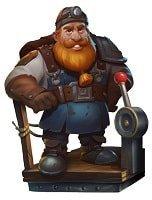 Dwarf Mine figur