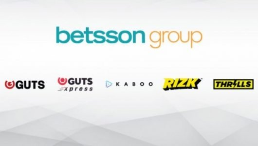 Betsson Group Guts Rizk Thrills Kaboo B2C Merkevarer