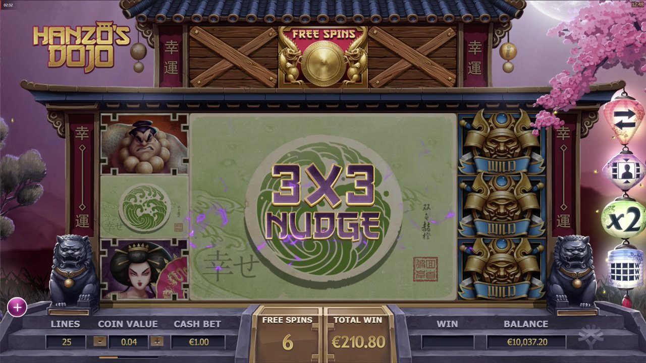 hanzos dojo 3x3 nudge