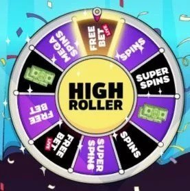 Highroller wheel feature