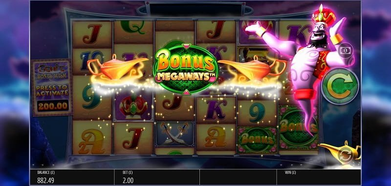 Genie Jackpots MegaWays make a wish