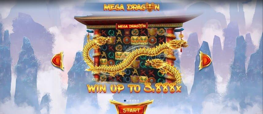 Mega Dragon skjerm