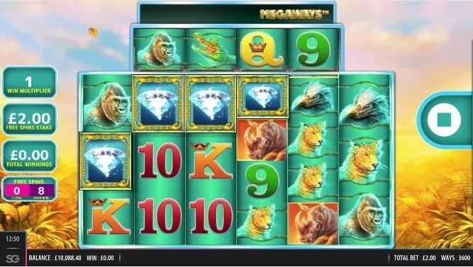 raging rhino megaways bonus