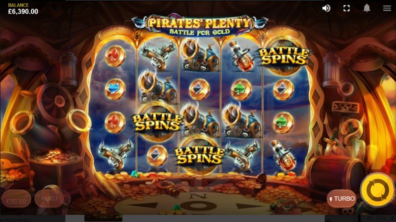 Pirates Plenty Battle for Gold Battle Spins