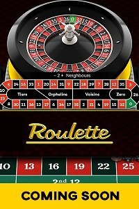Roulette coming soon banner