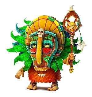 Tiki Tumble Character