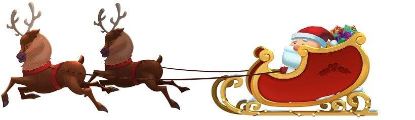 Fat Santa slede