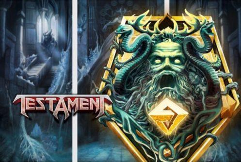 Testament Logo PlayN Go Spilleautomat