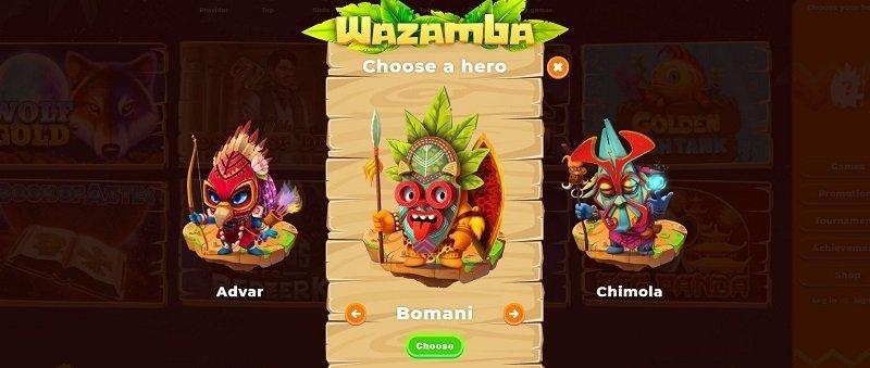 Wazamba helter