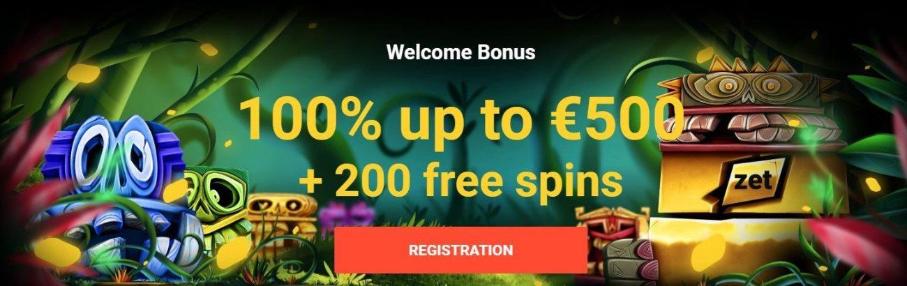 Zetcasino bonus